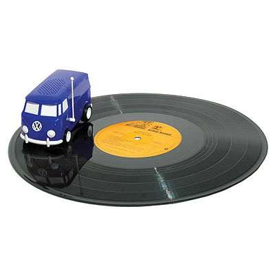 Compact Car-Inspired Turntables