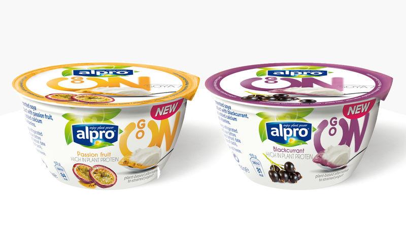 Soy-Based Yogurt Cups