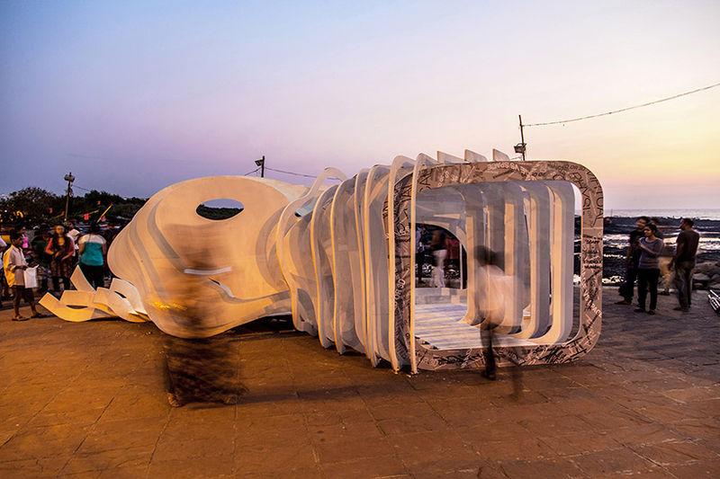 Space-Exploring Pavilions
