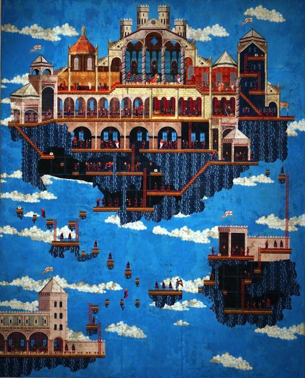Galactic Gamer-Inspired Frescos