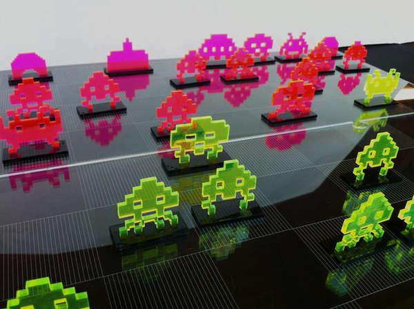 Futuristic 8-Bit Board Games
