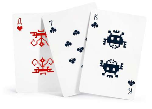 Pixelated Card Decks