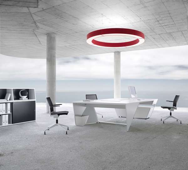outer space office furniture kinzo air airlite look