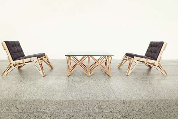 Skeletal-Framed Furniture Designs