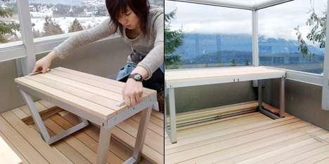 Hidden Patio Furniture