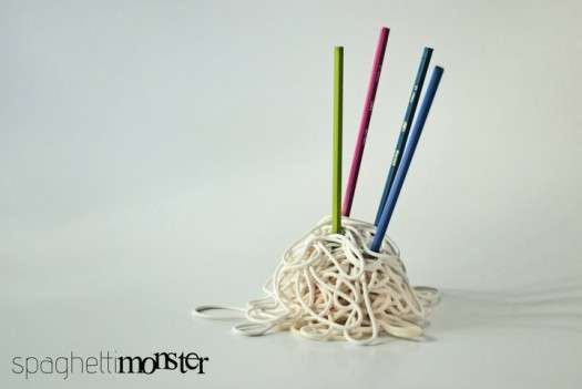 Noodle Pen Holders