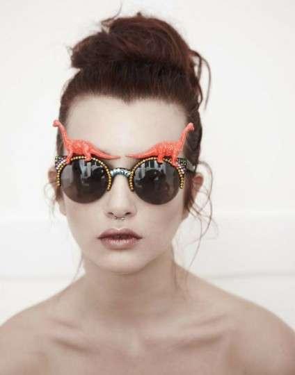 Eccentric Bedazzled Sunglasses