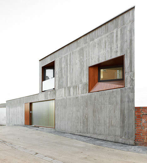 Stark minimalist homes spanish architecture for Minimalist house spain
