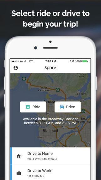 Social Ridesharing Apps