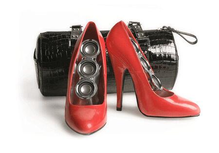Speaker Stilettos