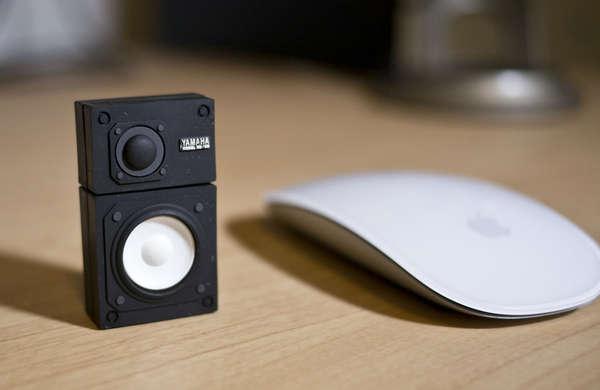 Sleek Speaker-Inspired USBs