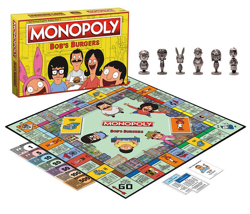 Cartoon-Themed Board Games