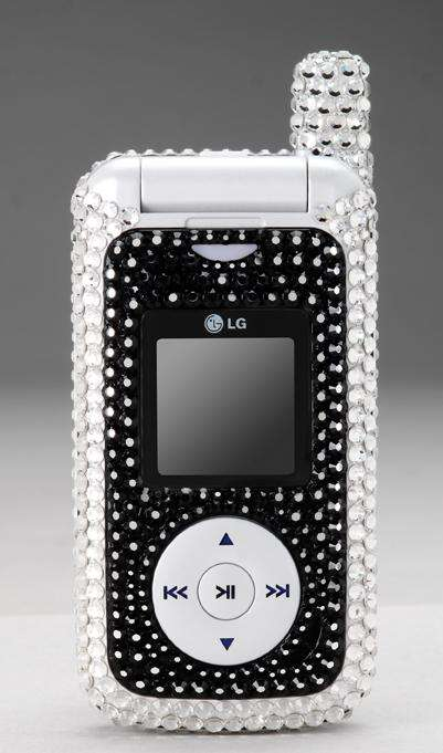 Special Edition LG FUSIC Phone with Bling2x