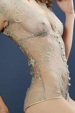 Swarovski-Studded Bodysuits