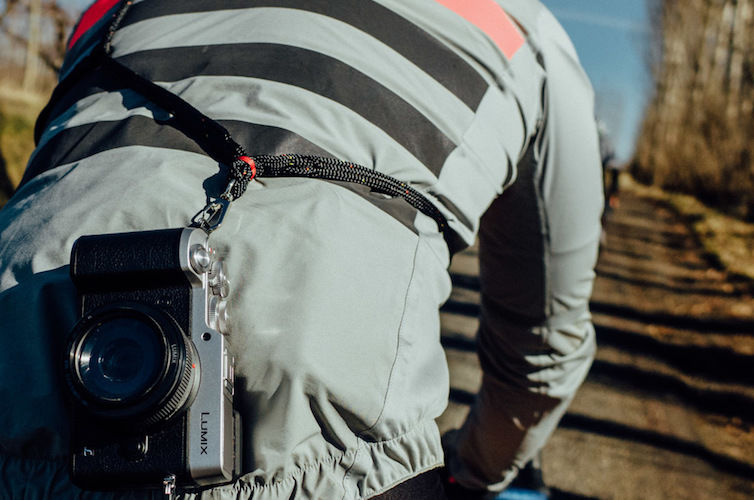 Cyclist Camera Straps