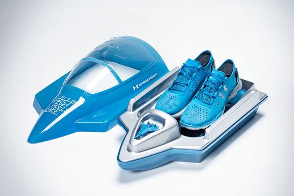 Speedy Shoe Box Branding