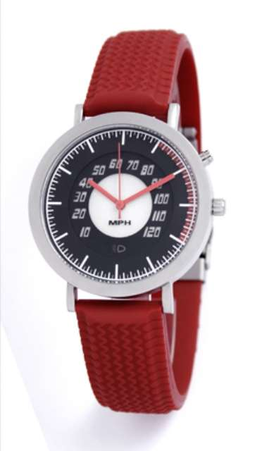 Speedometer watch