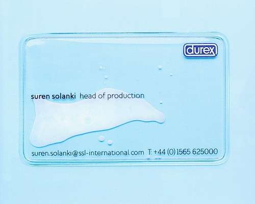 Semen-Enclosing Business Cards