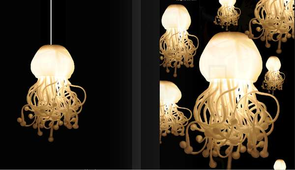 Jellyfish Lighting Spermatozoi Collection