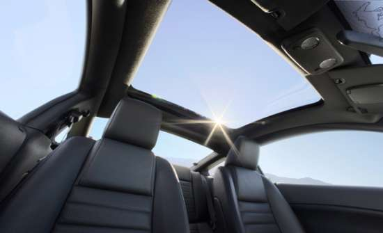SPF50 Glass Sun Roof
