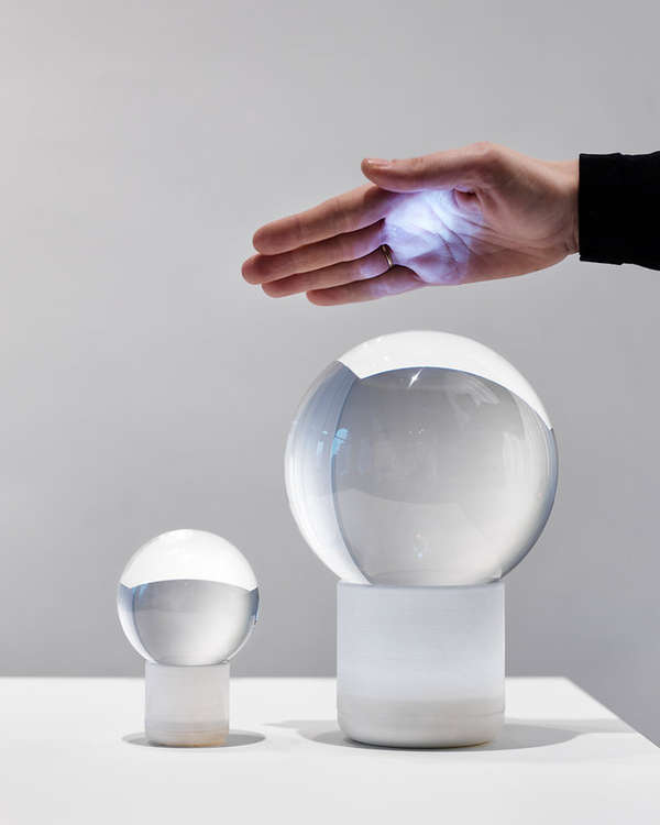 Crystal Ball-Like Lighting