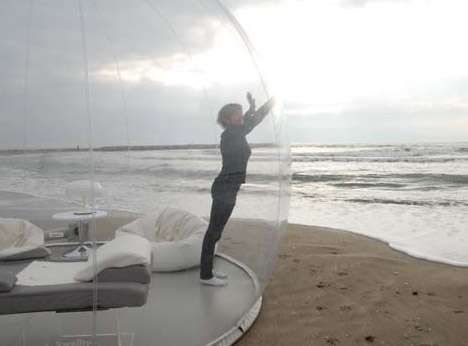 Spherical BubbleTree Tent