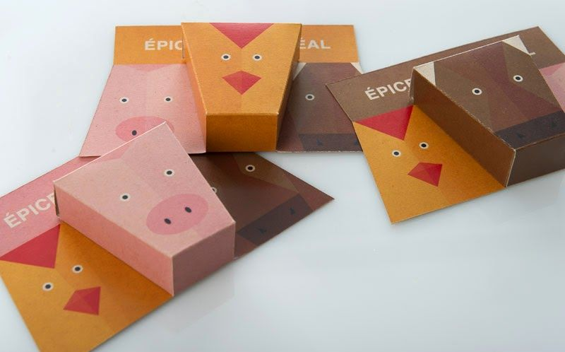 Animalistic Spice Packaging