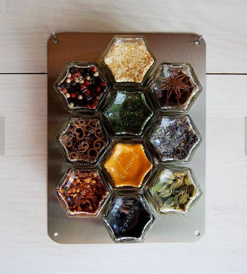 Honeycomb Spice Holders