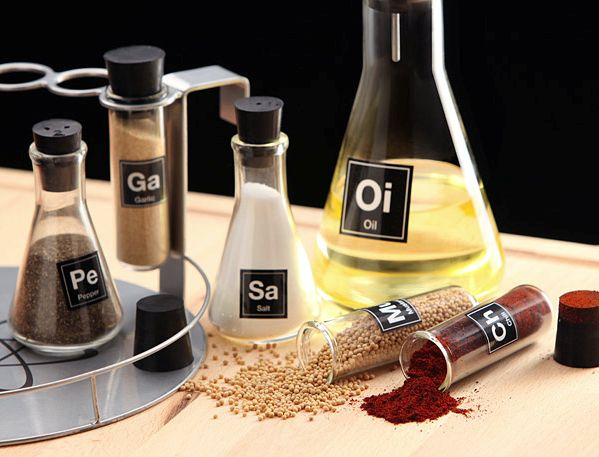 Chemistry Spice Shakers