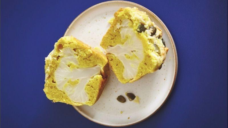 Cauliflower Floret Muffins