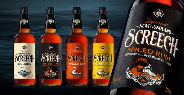 Nautical Rum Bottles