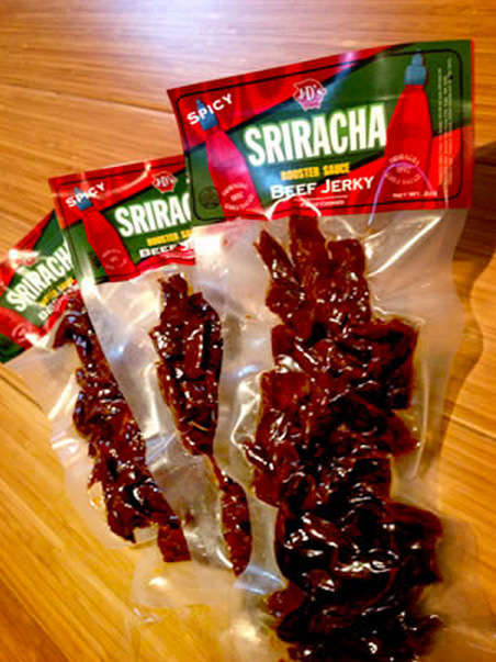 Sweetly Spicy Beef Jerky