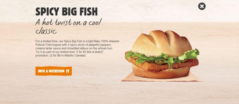 Spicy Fish Sandwiches
