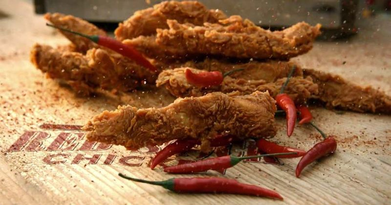 Hot Sauce-Marinated Chicken