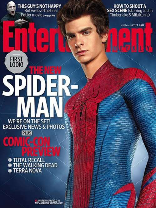 Spider-Man Entertainment Weekly