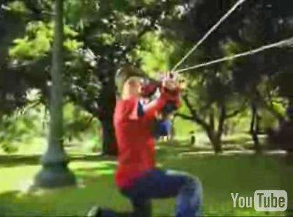 Spiderman Web Blaster