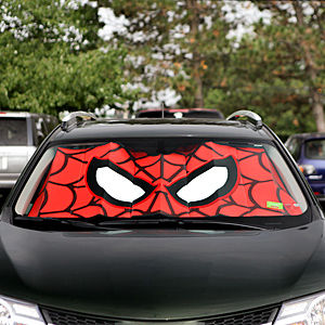 Superhero Windshield Sunshades