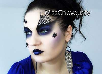 Spidertastic Eye Makeup