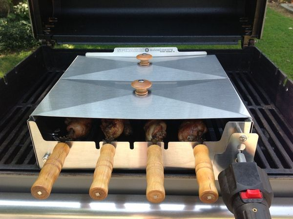 Spinning Skewer Cookers