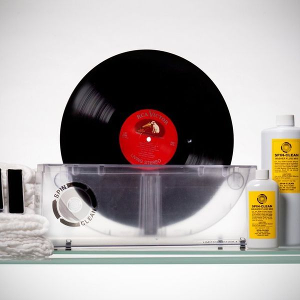 Spinning Vinyl Cleaners Spin Clean Record