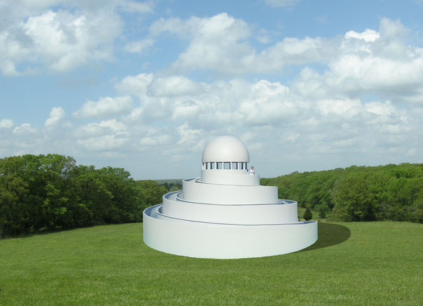 Spiral Path Pavilions