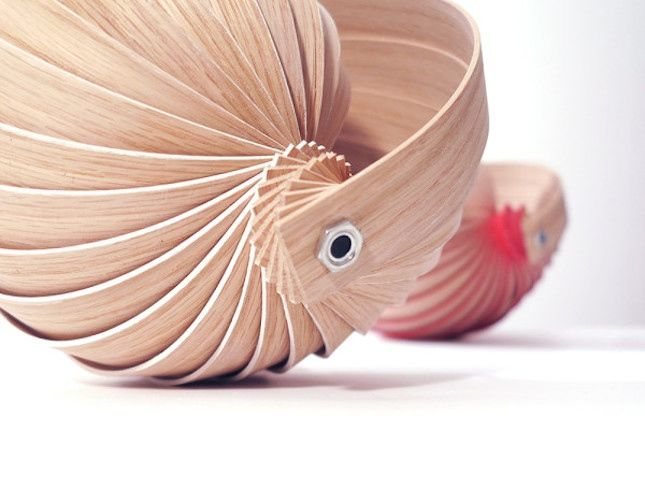 Spiral Shell Lamps