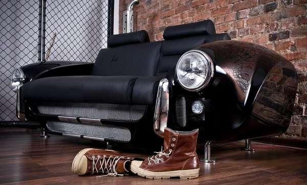Vintage Car Couches