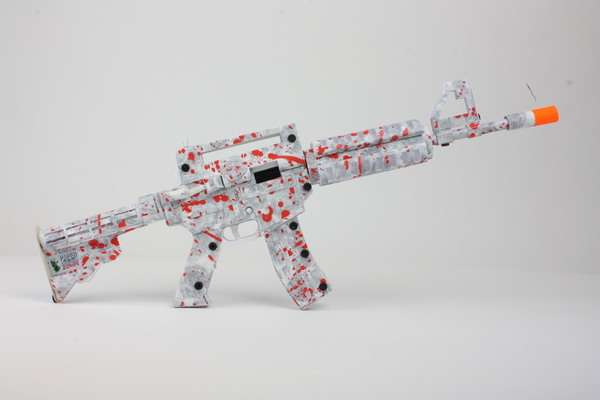 Paper-Fueled Rifles