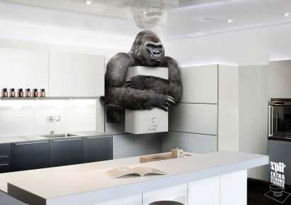 Gorilla-Grade Hardware Ads