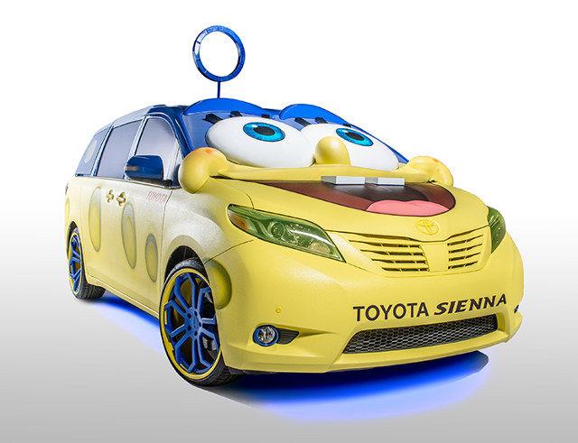 Cartoon-Inspired Minivans