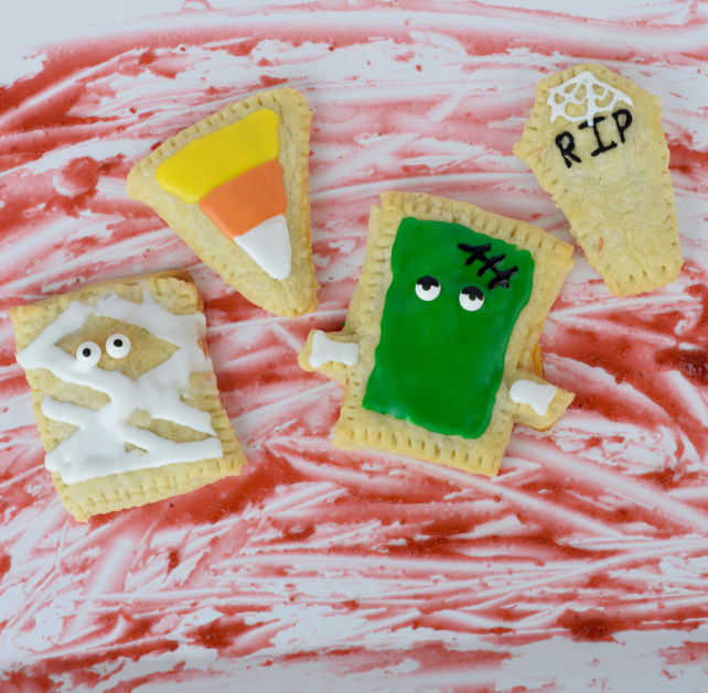 Halloween-Themed Breakfast Pastries