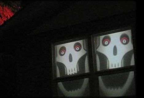 Spooky Window Treatments