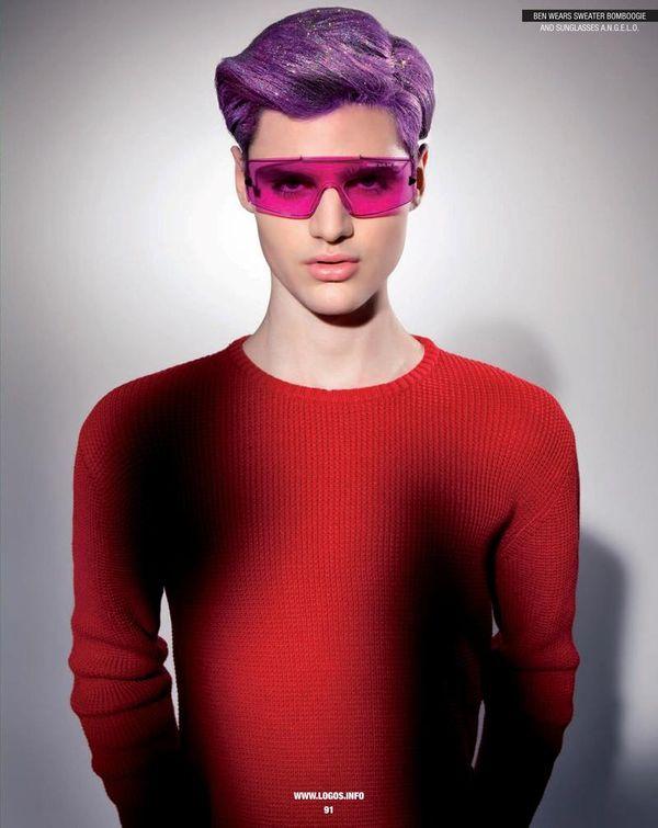 Quirkily Colorful Menswear
