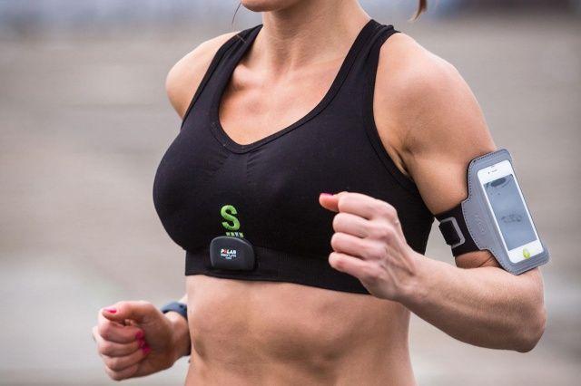 Heart-Monitoring Sports Bras
